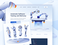 Drone.io – website with cool HTML animations