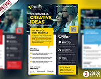 Corporate Business Promotional Flyer PSD Bundle