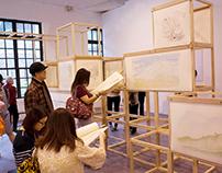 【走進/近桑貝的《童年》世界】畫作、互動藝術展