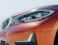 BMW Sunset Orange | CGI