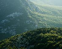 Uphills. Crimea. Ukraine