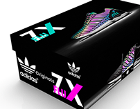Proyecto packaging Adidas ZX Flux