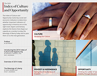 Index of Culture & Opportunity Website
