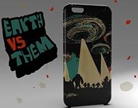 Earth vs Them Phone Case