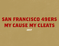 San Francisco 49ers | My Cause My Cleats
