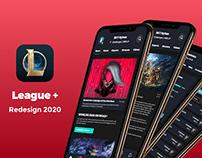 League+ app redesign | League of Legends 2020