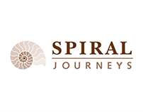 Spiral Journeys Logo Design