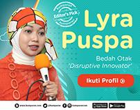 Social Media Poster kumparan userstory Promotion