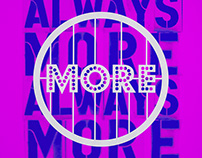 More More More - Poster project