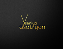 Logo for the hairdresser  Xseniya Asatryan.
