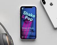 Spotify Shake & Pop
