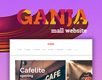 Shopping Mall with free project file (Adobe XD)