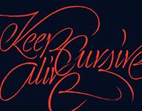 Calligraphy II.