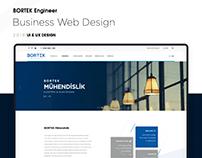Bortek Mühendislik Kurumsal Web Sitesi