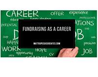 Matt Kupec: Why I Love Fundraising as a Career