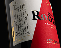 Rodinò - Conti Zecca | Wine Label