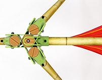 Portable Bamboo Hammock