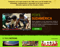 WELTHUNGERHILFE SUDAMÉRICA PROYECTO WEB