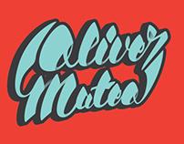 Oliver Mateo lettering for 2015