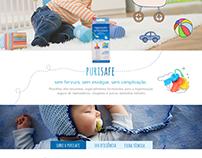 Puri Safe - Website Layout