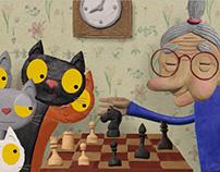 "Animation film ""Seven Cats"", 2016"