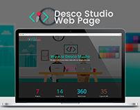 Desco Studio Web Page
