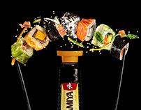 UMAMIYA glass bottle
