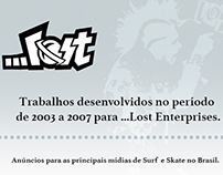 ADS • MARCIO CAU X ...LOST ENTERPRISES