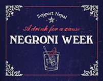 Negroni Week Campaign