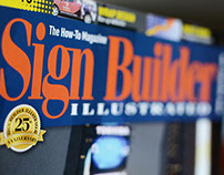 Sign Builder Illustrated Magazine Redesign