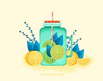ps/Lemon and mint