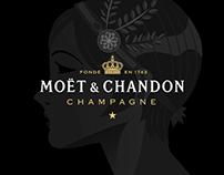 Infografía Moët & Chandon - Great Gatsby