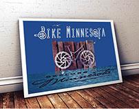 Bike Minnesota Poster