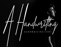 FREE | A Handwriting Font