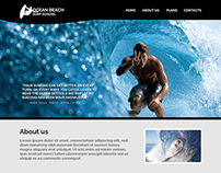 Surfing School Website
