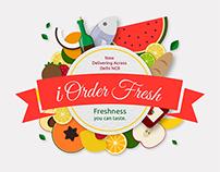 I Order Fresh - Logo