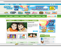 Webkinz Junior - Online Banners