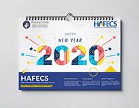 2020 Calendar Design for Company Branding - HAFECS