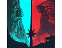 STAR WARS - THE LAST JEDI MOVIE POSTER