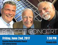 Jazz Trio Concert Poster