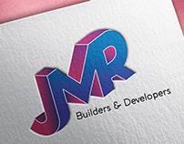 JMR Builders & Developers LOGO DESIGN