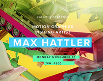 Max Hattler: Motion Graphics Visiting Designers 2014