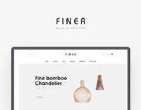FINER Furniture Website Design