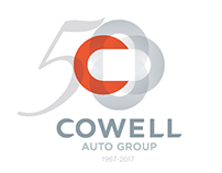 Cowell Auto Group - 50th Anniversary Logo Design