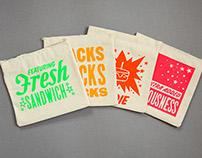 Globe Sandwich Bags