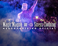 MAGIC MAGNO MERCHANDISING OFFICIAL STRESS CLOTHING