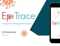 Covid-19/ EpiTrace-UX/UI mobile app