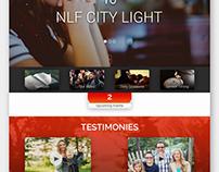NLF City Light Website Visual Design