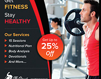 Best fitness website designed by Nexstair Technologies