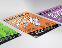 MakeIt{} — Hackathon Branding & Logo Design